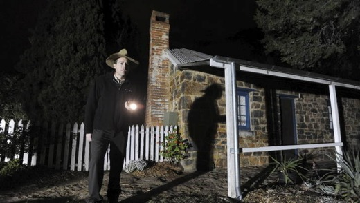 Some believe the ghost of a young girl haunts Blundells Cottage