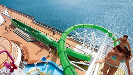 Carnival Spirit Waterslide Carnival Spirit's Most
