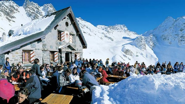 Just the ticket ... visiting Verbier in the Swiss Alps is easier thanks to new rail services.