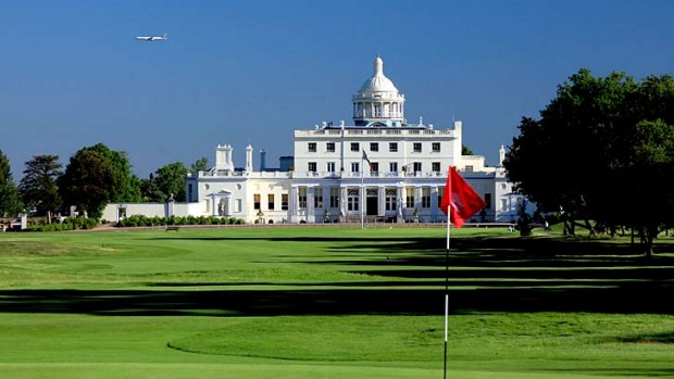 Stoke Park ... the hotel has apologised after an email slip up that showed the property's wedding coordinator tried to ...
