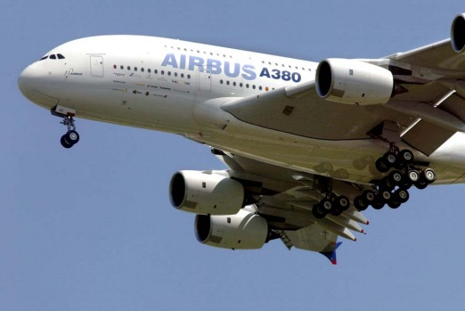The Airbus A380 superjumbo, the largest airliner in the world, took off on its first commercial flight five years ago. ...