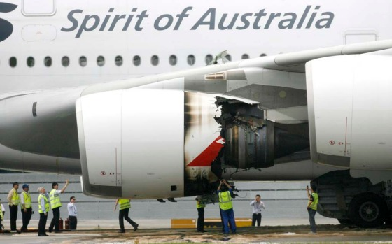 November 2010. In the most serious incident of the A380's five year history, an engine on Qantas flight QF32 from ...