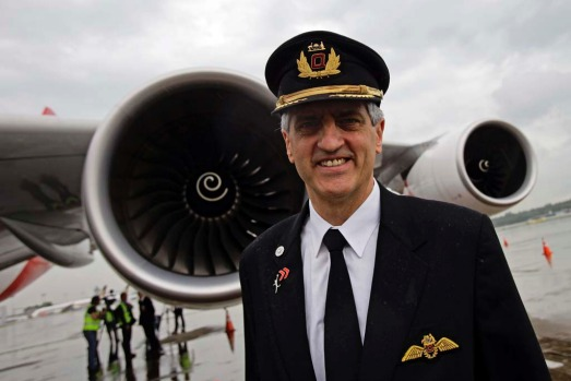 Qantas pilot Captain Richard Champion de Crespigny. Captain Crespigny was in command of flight QF32 when one of the ...