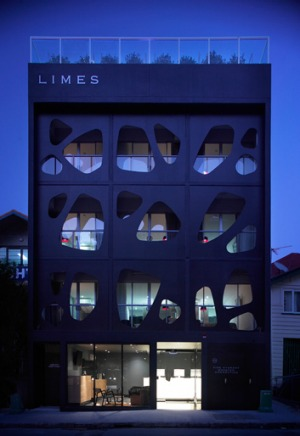 Limes is narrow and groovy - think small hotels in certain parts of Paris and bumping into interesting strangers.