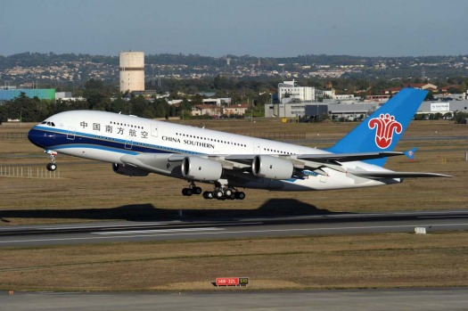 Domestic superjumbo ... China Southern received its first A380 in October last year and began flying the plane on ...