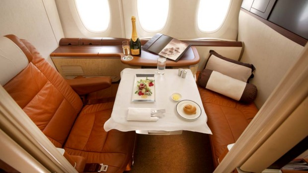 Singapore Airlines, the first carrier to receive the A380 superjumbo, wowed the industry with its first class private suites.