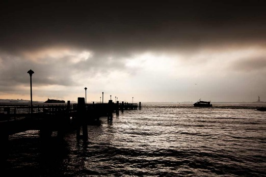 Red Hook: <i>arriving under a leaden sky</i>
