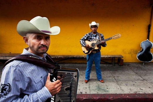 Boyle Heights: <i>Juan on accordian and Ismael on Bajo Sexto guitar</i>