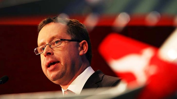 Qantas CEO Alan Joyce ... Stiff competition on pricing from Chinese airlines flying to Europe delivers more competition ...