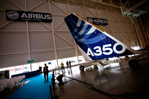 Full production of the A350 will now begin in earnest ahead of next year's maiden flight, rising to 10 planes a month by ...