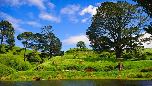 Back again ... The Hobbit film is yet to be released, but you can already visit some of the locations, including the ...