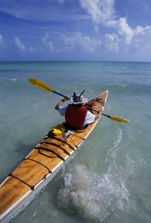 Kayaking in the Keys.