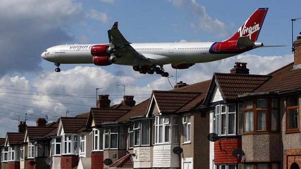 Plans for lift off ... a study will explore the expansion of Heathrow Airport with four new runways.