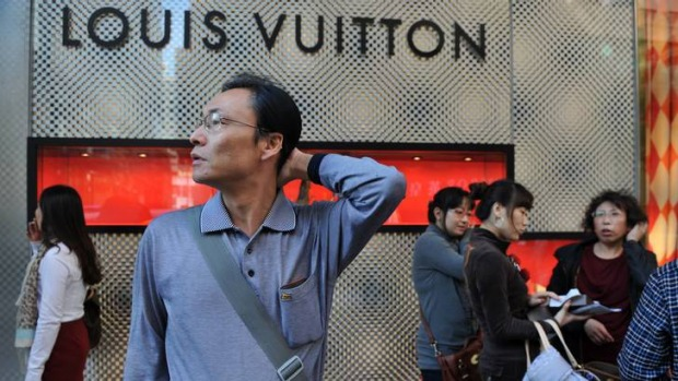 Luxury shoppers from the Asia-Pacific region are a major new tourist market.