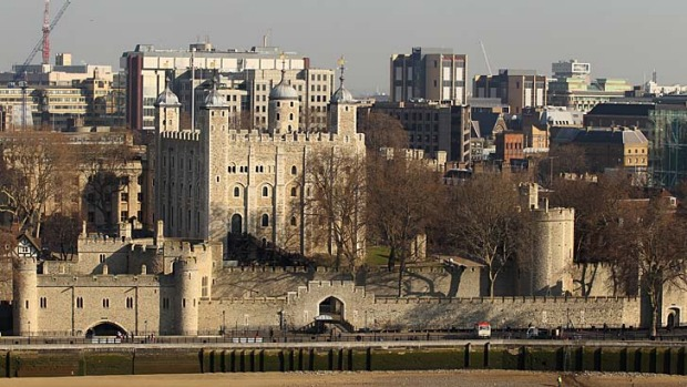 The Tower of London, home to the Crown Jewels.