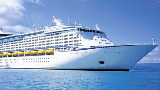 Alluring facilities ... Royal Caribbean's Voyager of the Seas.