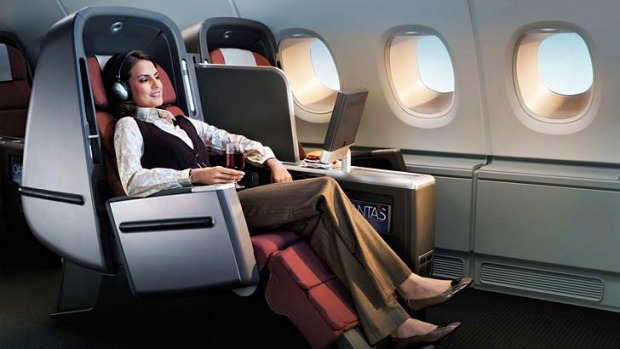 The war between Qantas and Virgin has resulted in unprecedented discounting on business class airfares.