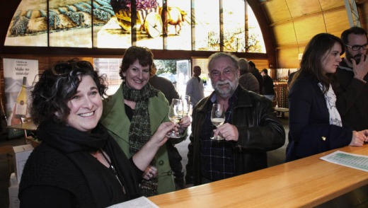 Wine tasting in Griffith.