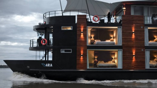 The MV Aria.