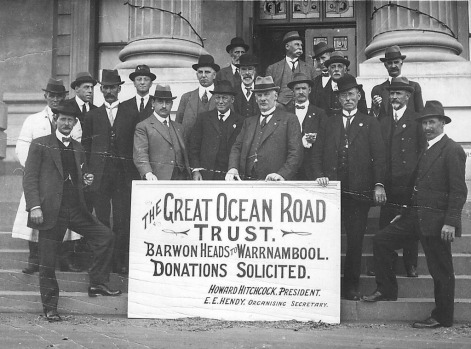 The Great ocean Road Trust Archive image.