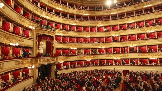 La Scala ... an opera house since 1778.