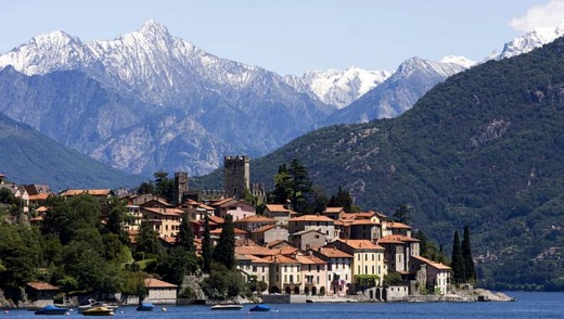 Further afield ... Lake Como near Milan.
