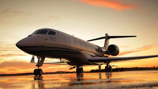 Some of the largest corporate planes, such as the Gulfstream G650, can fly about 90 per cent as fast as sound.