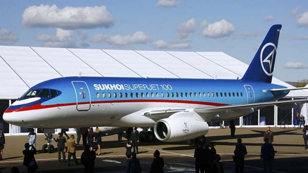 The Russian-built Sukhoi Superjet is aimed at rebuilding Russia's reputation for building airliners.
