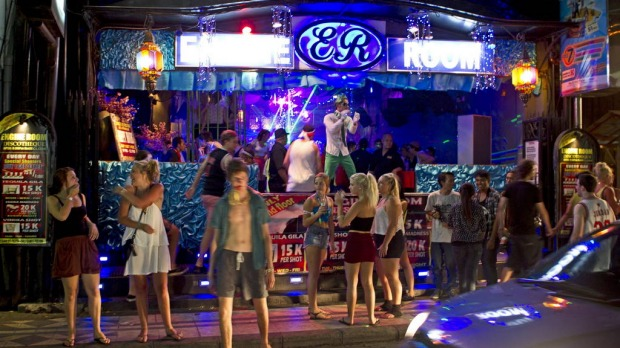 The Engine Room.  A new nightclub with a youthful atmosphere filled with schoolies in the centre of Kuta.