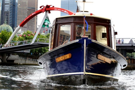 World Trade Centre taxi service on the Yarra.