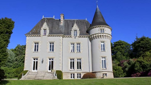 A chateau in Brittany from Love Home Swap.