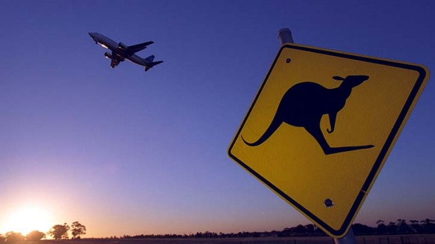 One way deals don't add up ... conspiracy theories are abound about why outbound Aussies take it in the neck and in-bound tourists live it up.