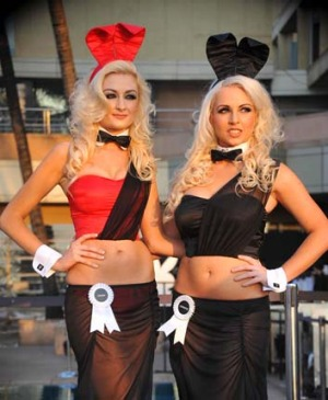 Playboy has unveiled a new-look bunny costume for its upcoming Indian club launch, opting for a more demure take on the ...