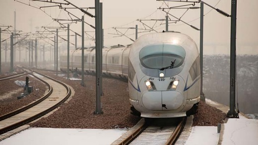 The world's longest high-speed rail route is set to open on December 26, stretching from Beijing to the southern Chinese city of Guangzhou.