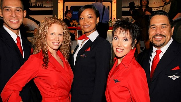 Sought-after roles ... Delta Air Lines employees.