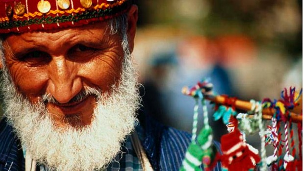 Facial hair is a sign of masculinity in Turkey.