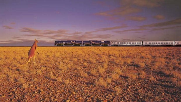 Go west ... the Indian Pacific.