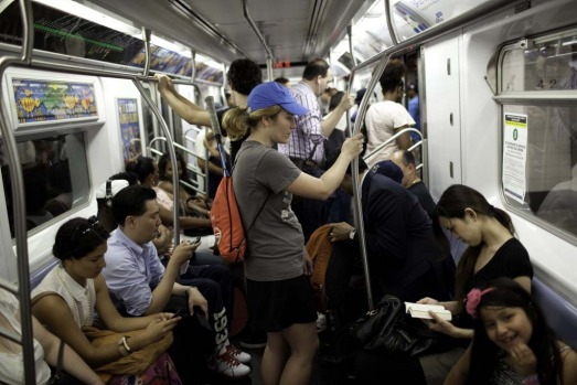 New York. On August 7, 2012, during the London Olympics, the Tube carried 4.5 million passengers ? a daily record. The ...