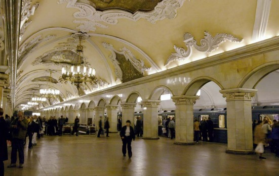 Moscow. Travellers expecting the Moscow Metro to reek of bland, grey Soviet brutalism are in for a pleasant surprise. ...