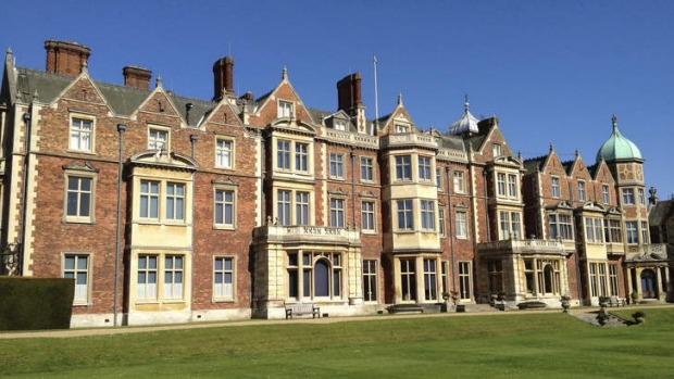 Sandringham estate in Norfolk is still used by the Queen as one of her residences.