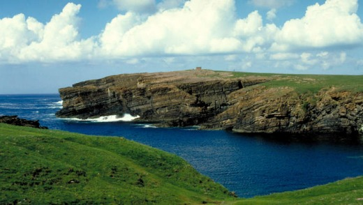 The shortest air route in the world, lasting as little as 47 seconds, can be found in Scotland's Orkney Islands.