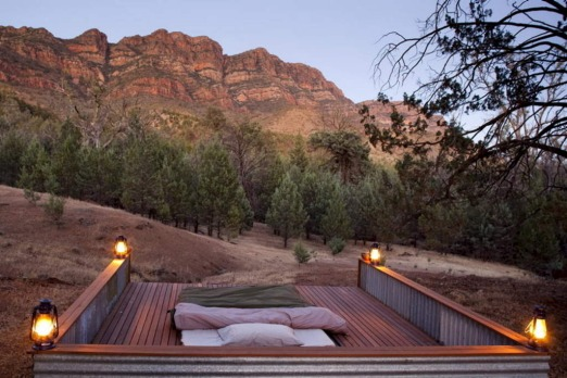 "SOUTH AUSTRALIA. Go for: A walking safari in the Flinders Ranges. Stay for: ""Table surfing"" on Kangaroo Island in late ..."
