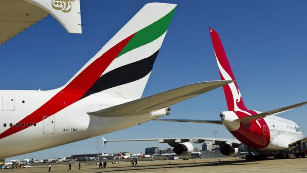Fares to Europe have dropped as rivals respond to the Qantas-Emirates alliance.