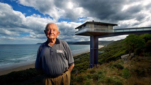 Iconic design ... Architect Frank Dixon was unsuccessful trying to save the Fairhaven pole house he designed in the ...
