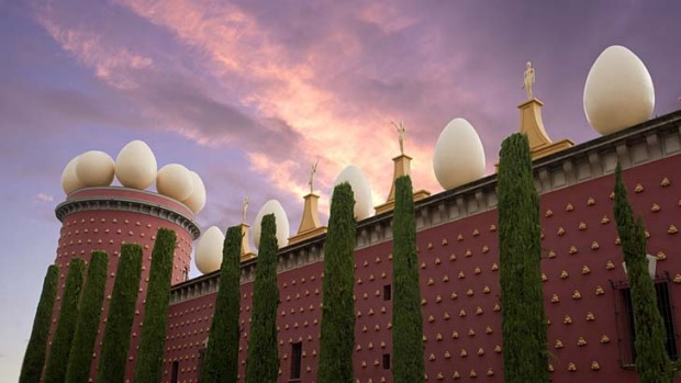Enigmatic ... the Dali Museum in Figueres, Spain.