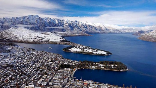 Queenstown, New Zealand. You forget, sometimes, just how beautiful this town is.