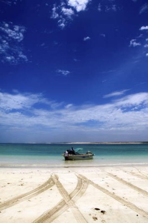 Eye-popping destination ... Gnaraloo Bay in  Western Australia.