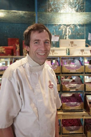 Chocolatier Christophe Meyer.  Photo: Ewen Bell