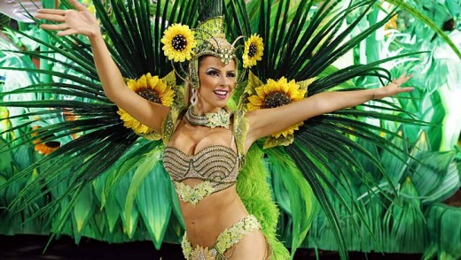 With its 3800 dancers and seven giant fantasy floats, Vila Isabel was the last of 12 elite samba schools to dazzle a ...