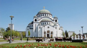 St Sava Cathedral in Belgrade, Serbia.